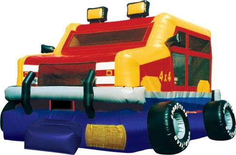 Where to find BOUNCE HOUSE - MONSTER WHEELS in Old Town