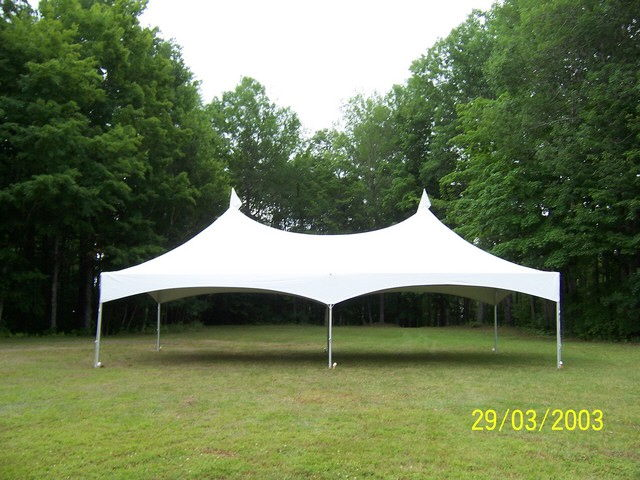 Where to find 20X40 WHITE PEAK FRAME TENT in Old Town