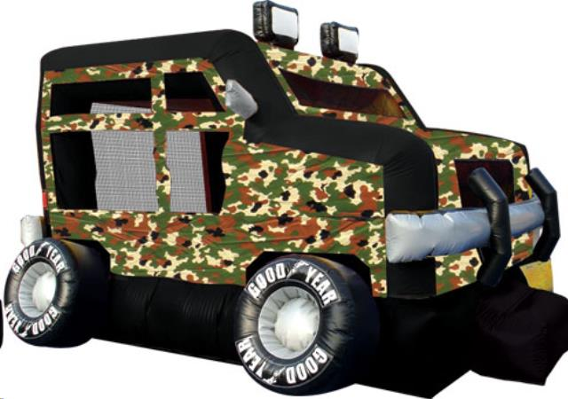 Where to find BOUNCE HOUSE - MILITARY TRUCK in Old Town
