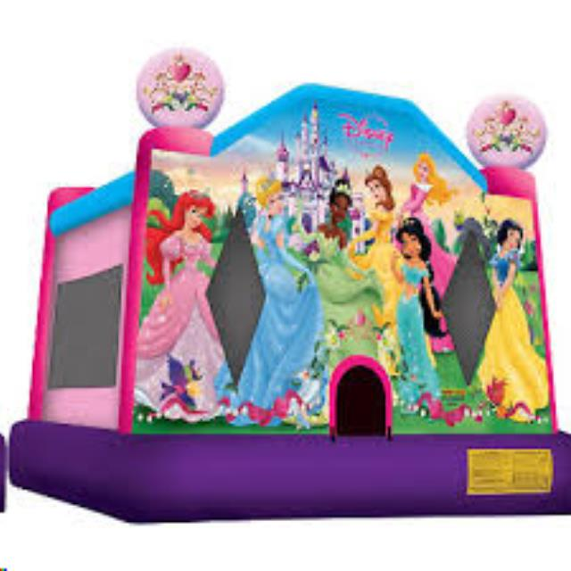 Where to find BOUNCE TENT - SMALL PRINCESS 14X13 in Old Town