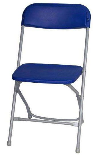 Where to find CHAIRS - BLUE GRAY FOLDING in Old Town