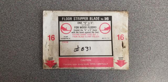 Where to find FLOOR STRIPPER BLADE  16 in Old Town